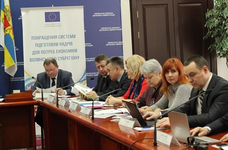 За підтримки Європейського союзу проведено дослідження ринку праці Волинського субрегіону