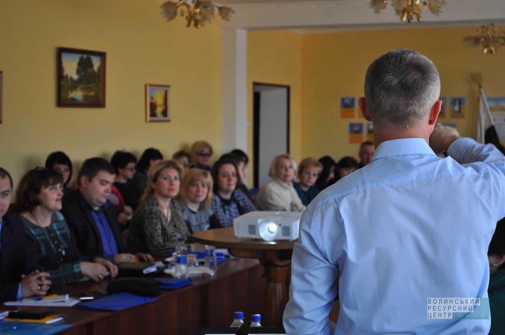 Тренінг регіональної ради профтехосвіти Полтавщини